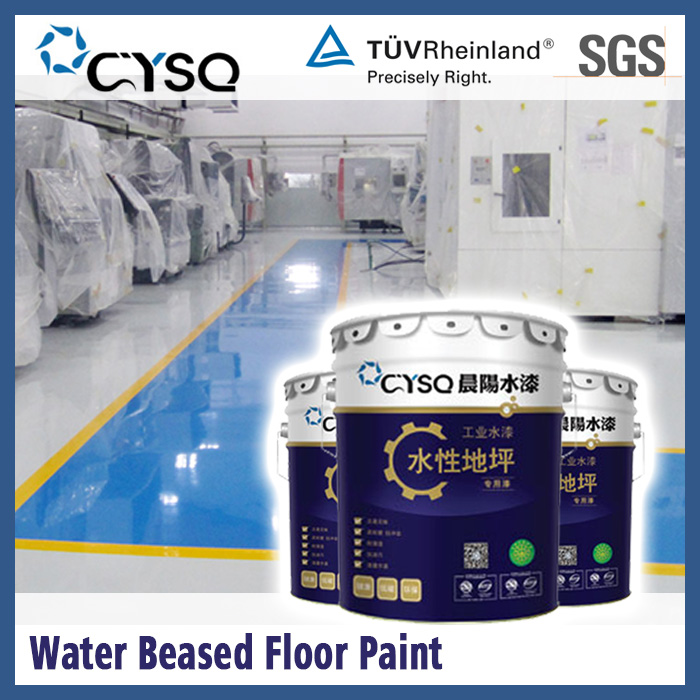 Water Based epoxy floor resin