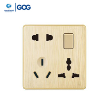 New design 1 gang 8 pin bangladesh electrical wall switch and socket
