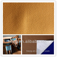 Environmental Protection Recycle Rexine Car Seat Leather