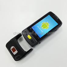 C4000 Handheld Fingerprint reader with Android 4.4.2 OS,Option Camera,Barcode,RFID