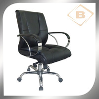 Luxury PU+PVC Leather Modern Executive Office Chair