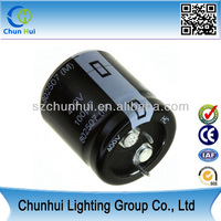 cheap price 400v 560uf aluminum electrolytic capacitor