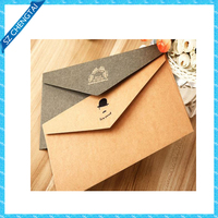Customized pretty style high quality envelope paper