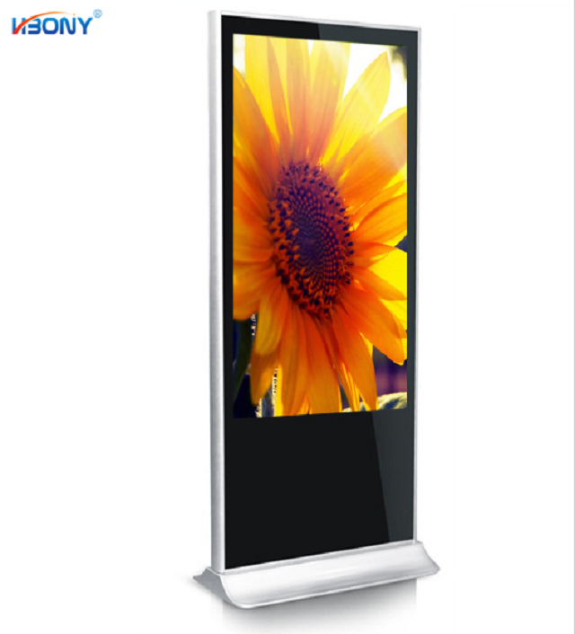 Factory hot sale 43inch Indoor Application and TFT Type touch lcd monitor