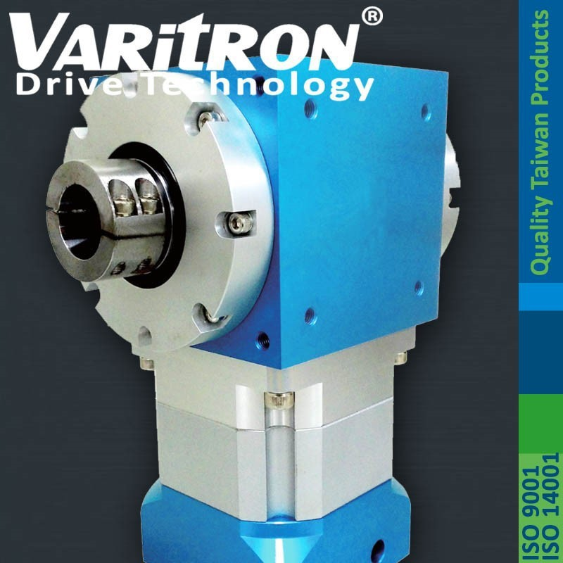 Varitron RAM-D Series Hollow Shaft Right Angle Spiral Bevel Planetary Gearbox