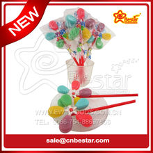 Colourful Windmill Lollipop