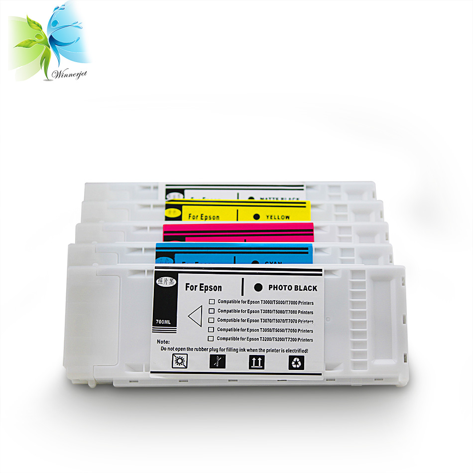 China wholesale price empty compatible inkjet printer ink cartridge for EPSON SureColor SC T3000 T5000 T7000 T3200 T5200 T7200