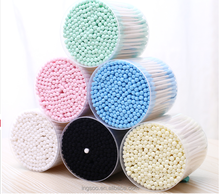 colorful cotton swabs for cosmetic