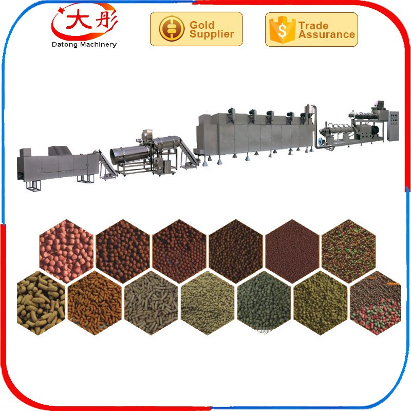 Different output fish and prawn feed pellets making machine