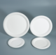 Wholesale bagasse disposable paper tableware compostable disposable paper plate