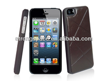 customize your leather flip hot sell case for iphone5/5s