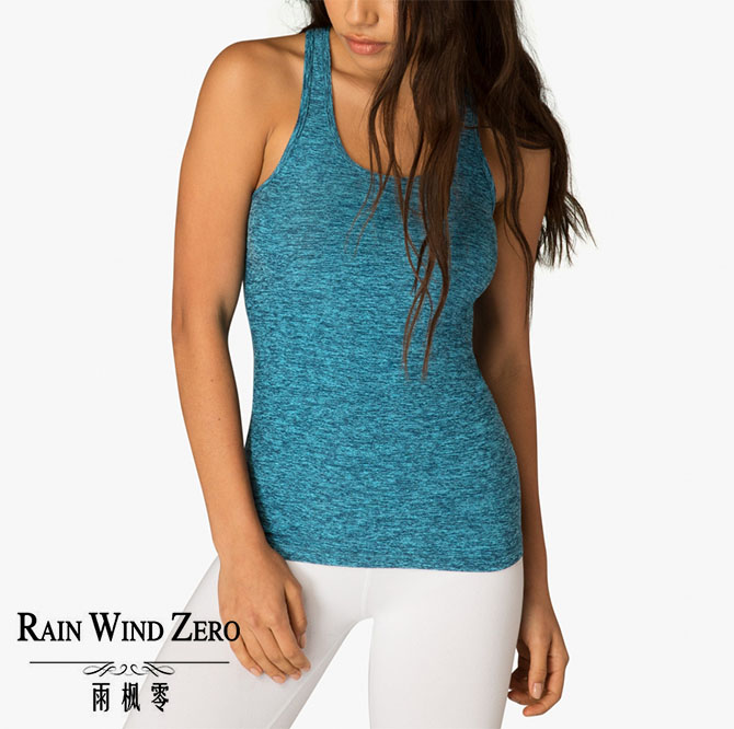 Wholesale customized women yoga gym wear vest