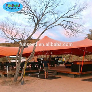Customized bedouin stretch tents outdoor luxury wedding tent for party