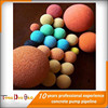 top manufacturer DN125mm pipe cleaning sponge ball