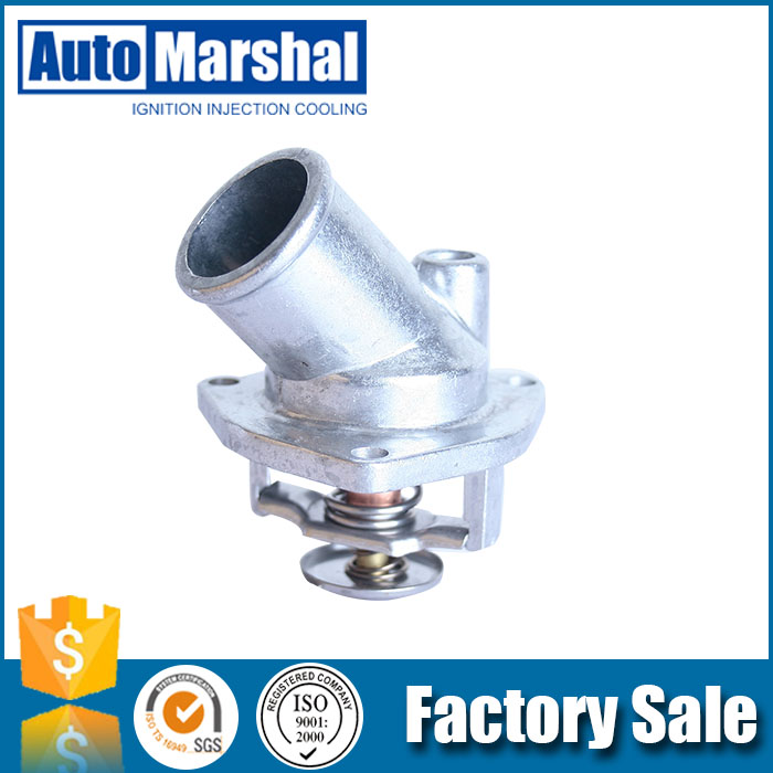 good quality aluminum auto thermostat housing for OPEL ASCONA C ASTRA F CALIBRA A KADETT E MONTEREY B VECTRA A 1. OEM 90 220 435