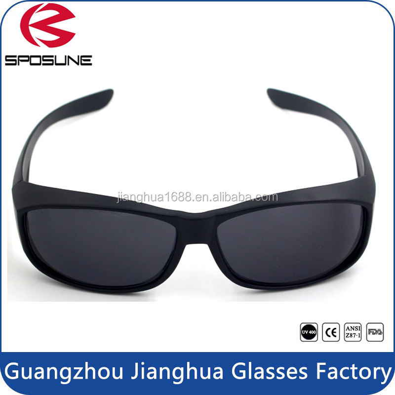 Hot sale sunglasses 2017 wholesale cheap promotion high impact UV protective fit over sunglasses