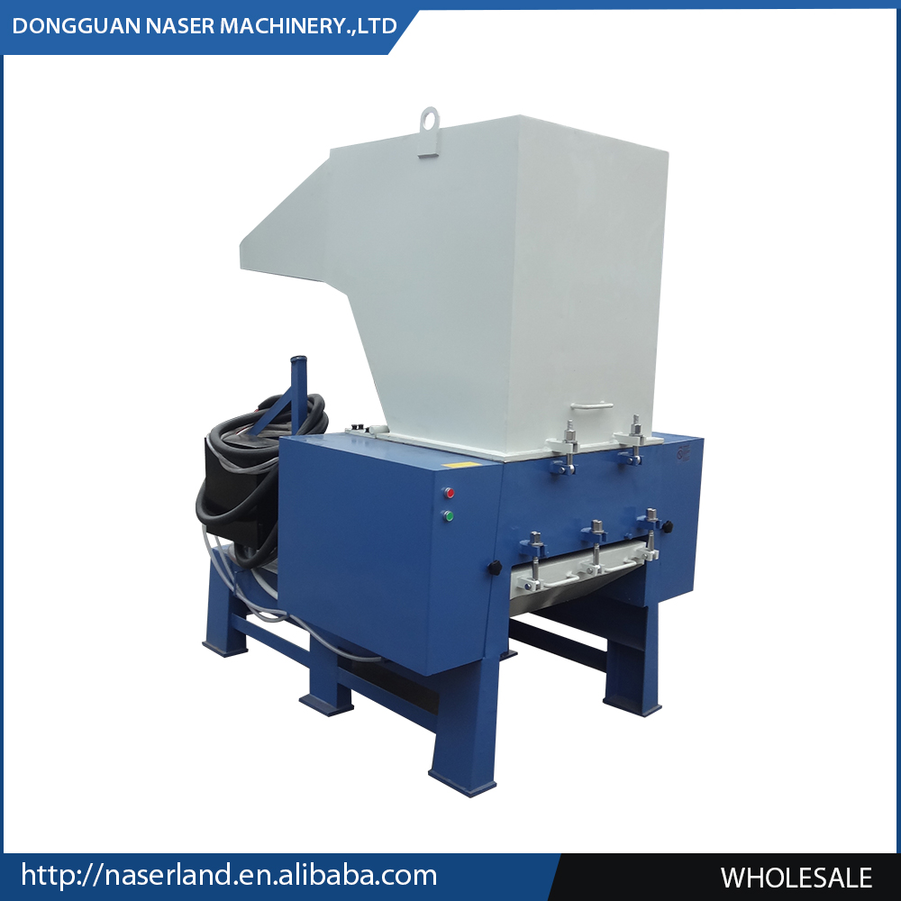 new design commercial plastic film crusher plastic shredder and crusher machine