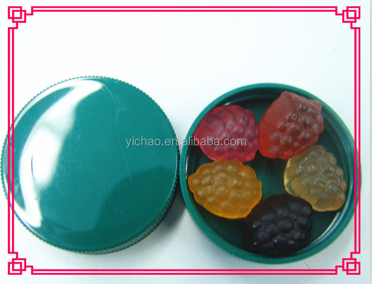 Gelatin gummy soft candy for heathly supplement