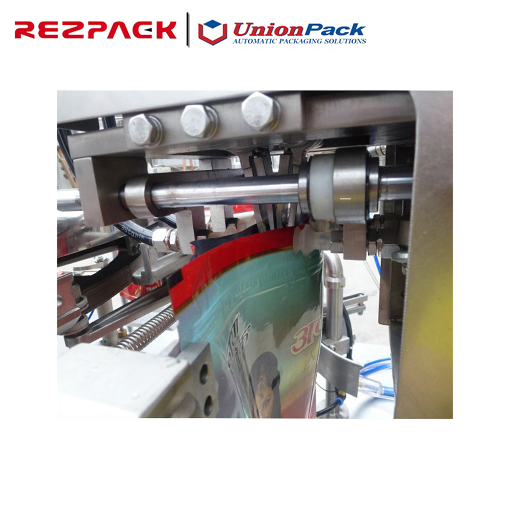 PLC controller High efficiency Automatic stand up pouch filling machine,Zipper Pouch Filling-Closing-Sealing Machine