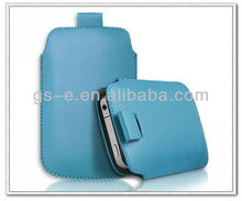 Gorgeous Pull tab leather Pouch sleeve case for Iphone 4 4s