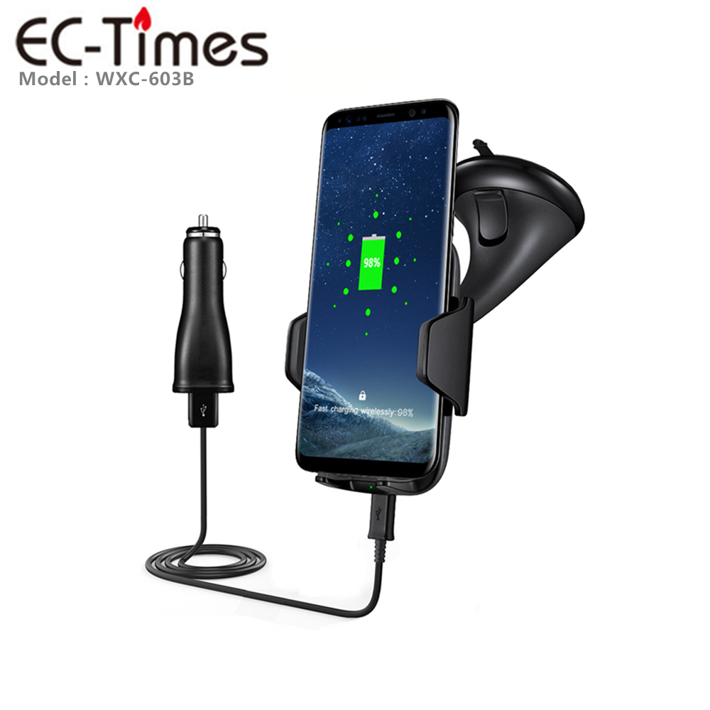 Latest Products In Market Qi Compatible Wireless Charger Phone Charger On The Go