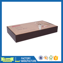 China supply packing transparent gift box