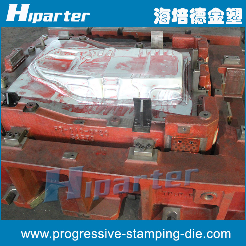 China OEM Auto Metal Part Stamping Die with Casting Base, Vehicle Metal Part Stamping Mould with Casting Base
