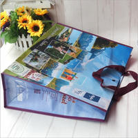 Top Quality Promotional recycled laminated pp shopping woven shopping tote bag manufacturers