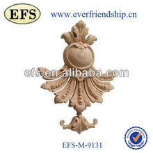 Cheap wholesale exquisite handcraft wood decorative carving(EFS-M-9131)