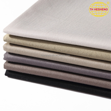 High quality custom plain dyed sweat pants woven fabric new style fashion jacket polyester cotton fabric