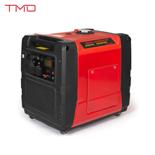 5000W Super Quiet Light Weight Inverter 120 / 240v Fuel Efficient Generator with Monitor LCD