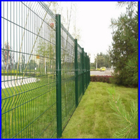 high quality triangle welded fence, curved welded wire mesh fence