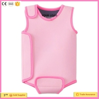 Hot selling fashionable style neoprene swimming wet suit for baby