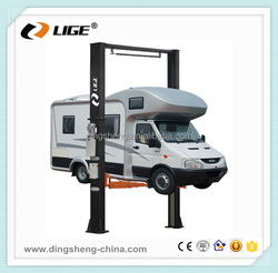 CE Certification and Electro-Hydraulic 2 post Lift car lifter