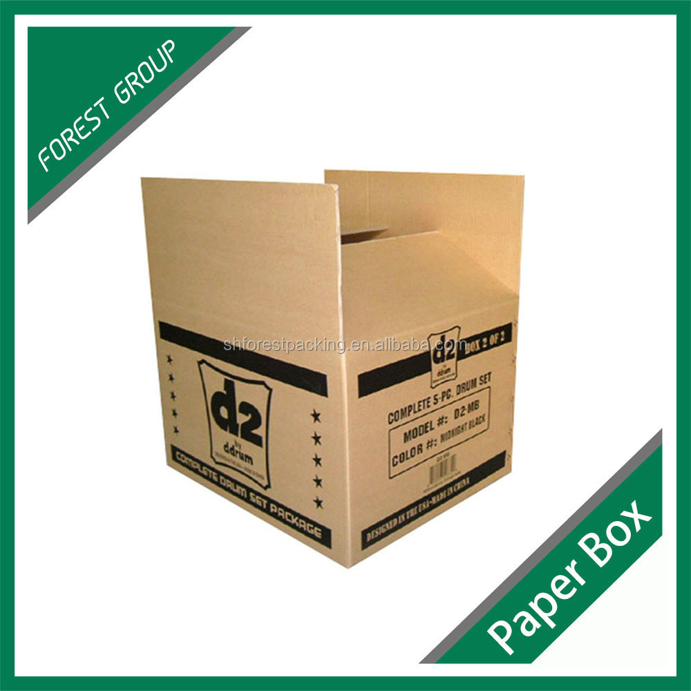 VARIOUS STYLE RSC SHAPE CORRUGATED PAPER SHIPPING CARTONS FOLDABLE PAPER MASTER BOXES FOR MAILING