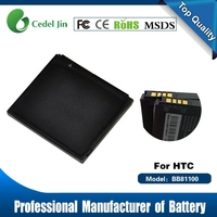 gb t18287 cell phone battery BB81100 for HTC T9399 1230mAh 3.7v rechargeable battery