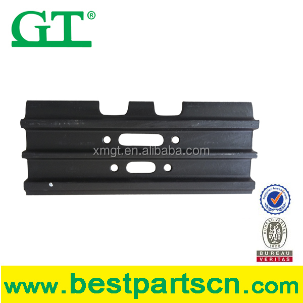 Mitsubishi excavator track shoe for undercarriage parts MS160L, MS230, MS240, MS270, MS280, MS300