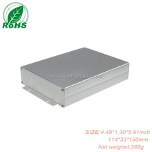 Custom Anodized Waterproof Aluminum Enclosure Box 114*33*150mm