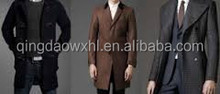 warm and soft wool long coat russian winter coat for men