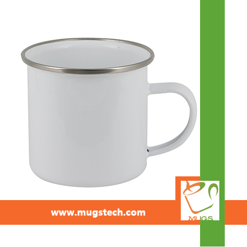 8oz Sublimation Coated Fine Enamel Cup