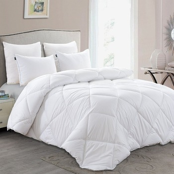 Lightweight Down Comforter - Luxury Down Duvet Insert with Super Soft Shell, Hotel Quality Comforter and Hypoallergenic