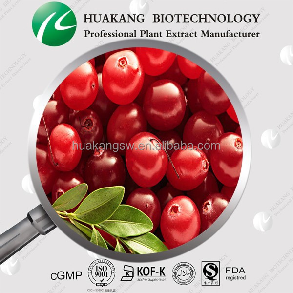 Supplier Cranberry bilberry Extract