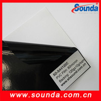 Sound yellow car wrap vinyl film pvc adhesive vinyl film