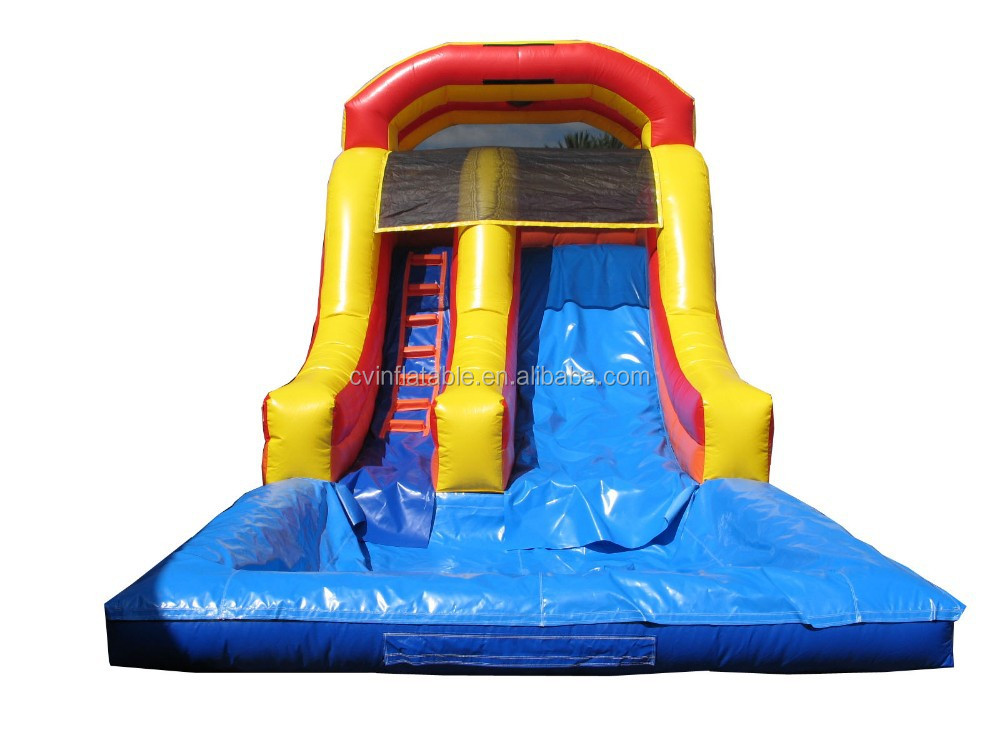 2015 hot spongebob swimming pool slide,water park slides for sale,giant inflatable water slide