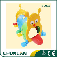 SS22 Factory Outlet Cheap Plastic Caterpillar Tunnel Toy