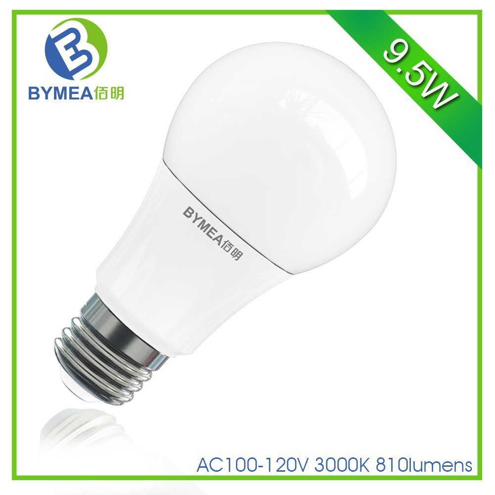 Hot sale competitive price A19 led light bulb 9W e26 810lm UL/Energy Star certified a19 led light bulb