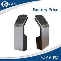 OEM 19 inch Queue Management System and Inquiry Service Mall Kiosk Internet Touch