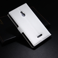 Fashionable OEM for nokia xl leather case
