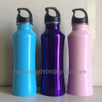 2015 new product stainless steel canteen bottle plain