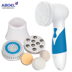 Skin Beauty Brush Massager 7 in 1 Electric Wash Face Feet Care Machine Facial Pore Cleaner Body Cleaning Waterproof IPX7